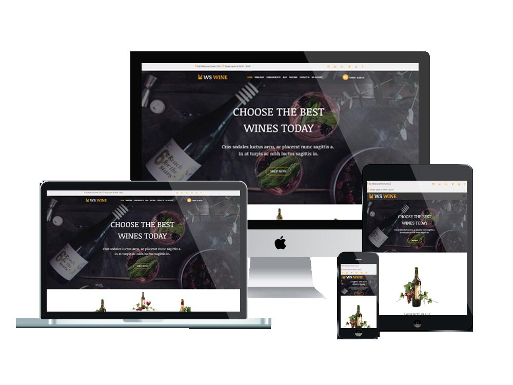 Wordpress Theme: WS Wine – Responsive Wine Store WooCommerce WordPress theme