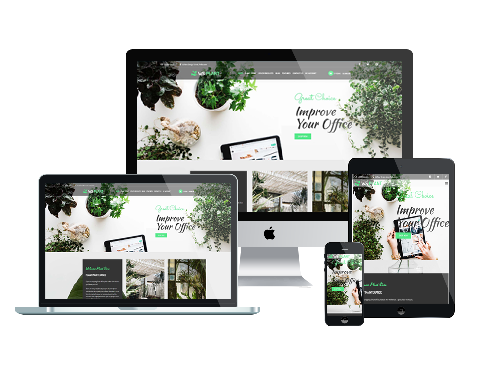 Wordpress Theme: WS Plant – Responsive Garden WooCommerce Wordpress theme