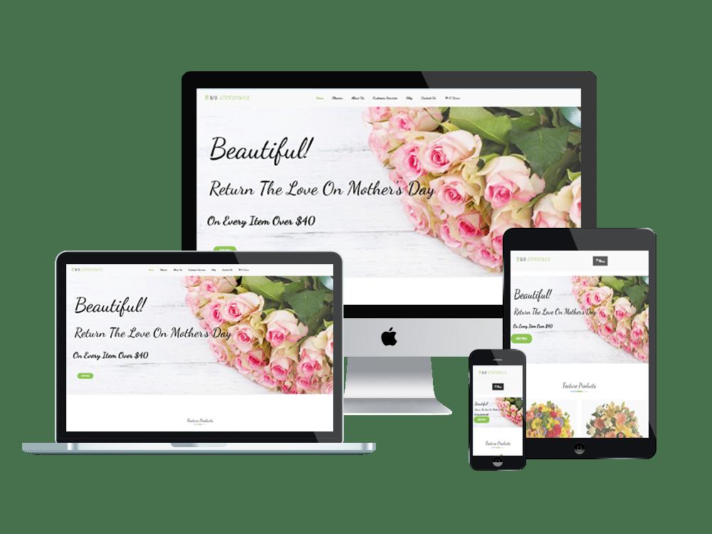 Wordpress Theme: WS STOFLOWER – FREE RESPONSIVE FLOWERS WOOCOMMERCE WORDPRESS THEME