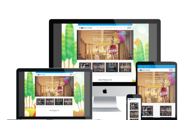 Wordpress Theme: WS Kid – Free Responsive Kids / CHildren Store Wooommerce Wordpress Theme
