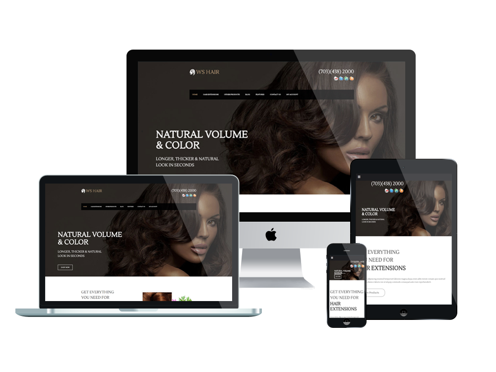 Wordpress Theme: WS Hair – Free Responsive Hair / Spa Salon Woocommerce Wordpress Theme