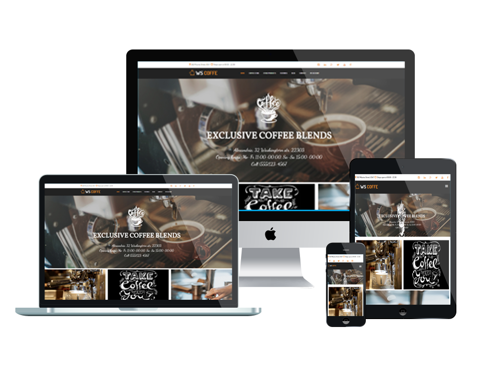 Wordpress Theme: WS Coffee – Free Cafe / Coffee Shop Woocommerce Wordpress Theme