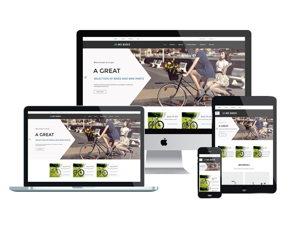 Wordpress Theme: WS BIKES – FREE RESPONSIVE BIKE SHOP WOOCOMMERCE WORDPRESS THEME