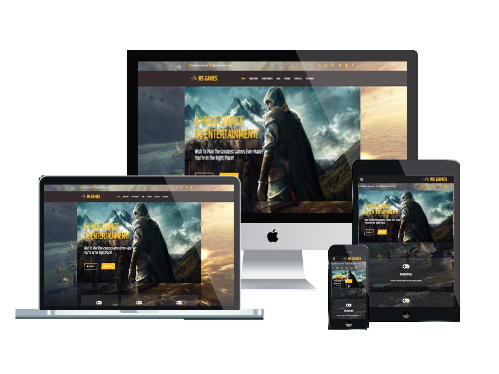 Wordpress Theme: WS Games – Free Games Woocommerce Wordpress Theme