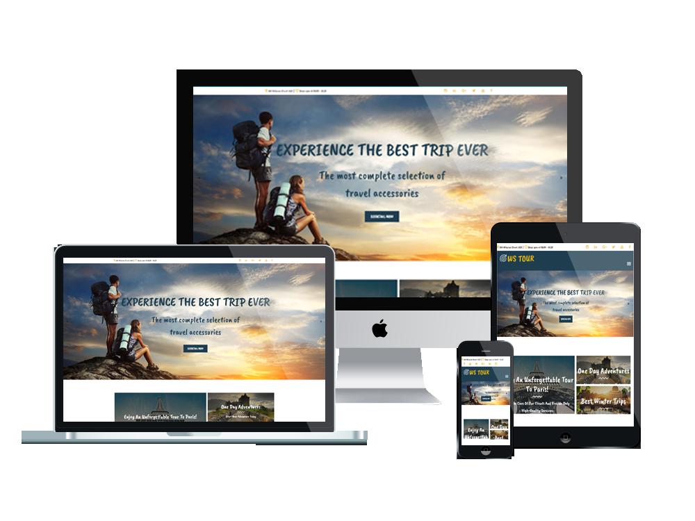 Wordpress Theme: WS Tour – Free Responsive Travel Booking Woocommerce Wordpress Theme