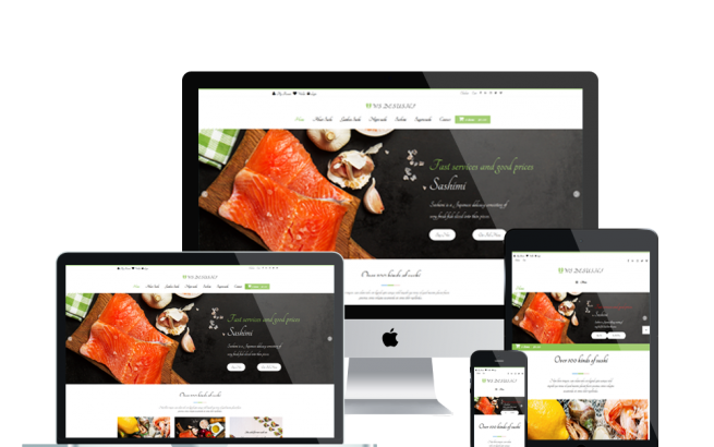 Wordpress Theme: WS DESUSHI – FREE RESPONSIVE SUSHI RESTAURANT WOOCOMMERCE WORDPRESS THEME
