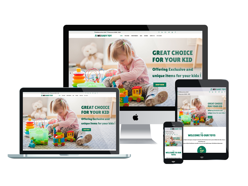 Wordpress Theme: WS Toy – Free Kids / Toys Store Woocommerce Wordpress Theme
