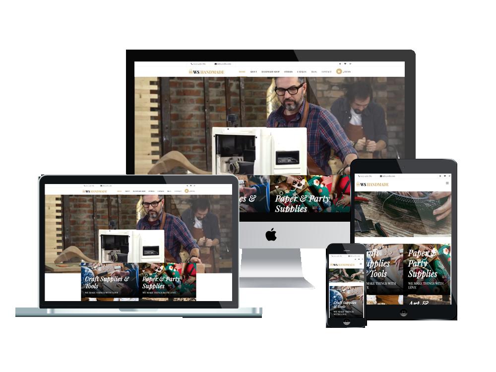 Wordpress Theme: WS Handmade – Responsive Handicraft wordpress theme