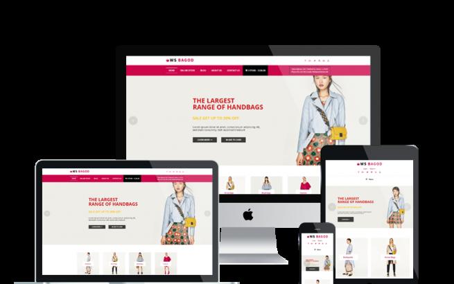 Wordpress Theme: WS Bagod – Free Responsive Handbag WooCommerce WordPress theme