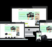Wordpress Free Theme - WS DIRAX – FREE RESPONSIVE DIGITAL CAMERAS WOOCOMMERCE WORDPRESS THEME