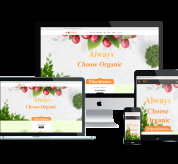 Wordpress template WS Fresh – Free Responsive Agriculture Store Woocommerce Wordpress theme