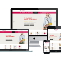 Wordpress Free Theme - WS Bagod – Free Responsive Handbag WooCommerce WordPress theme