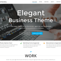 Wordpress Free Theme - Integral