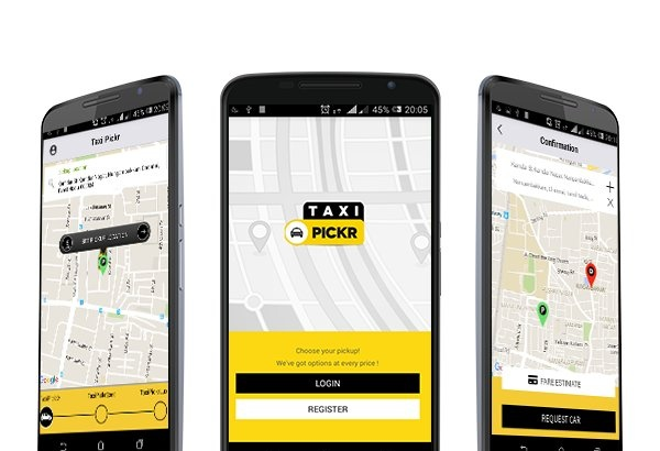Joomla Template: Uber clone script - Taxi Pickr - Taxi Booking Software