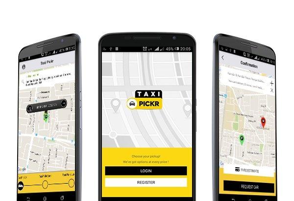 Uber clone script - Taxi Pickr - Taxi Booking Software - joomla