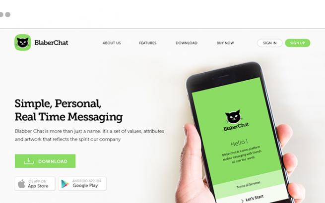 Joomla Template: WhatsApp Clone Script - BlaberChat - Instant Messaging App Builder