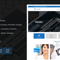 Wordpress Free Theme - Probit – Professional WordPress Theme
