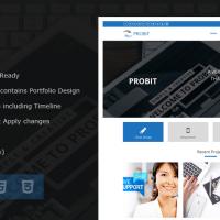Solwin Infotech Wordpress Theme: Probit – Professional WordPress Theme
