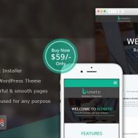 Solwin Infotech Wordpress Theme: Biznetic - WordPress Business Theme