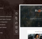 zyxel Wordpress Theme: Bloggers Lite – Free Responsive WordPress Blog Theme