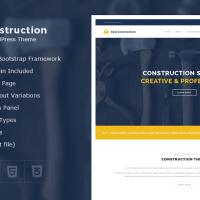 Solwin Infotech Wordpress Theme: Real Construction – Construction WordPress Theme