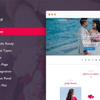 Solwin Infotech Wordpress Theme: TwoGether Pro - Wedding WordPress Theme