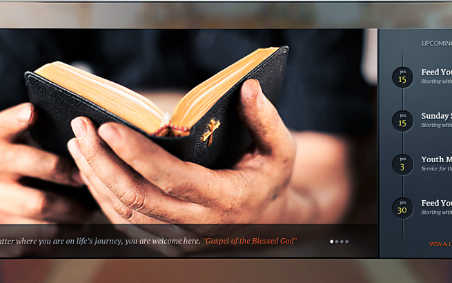 Wordpress Theme: Evangelist - Church Theme