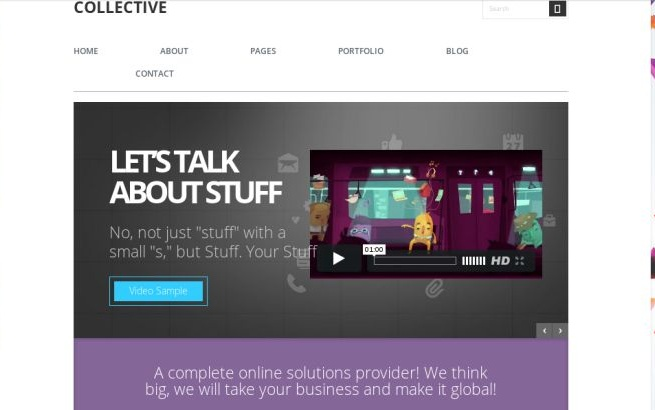 Wordpress Theme: Collective