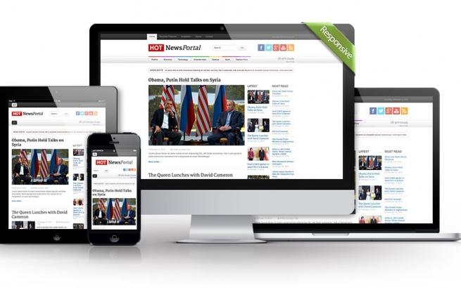 Joomla Template: News Portal