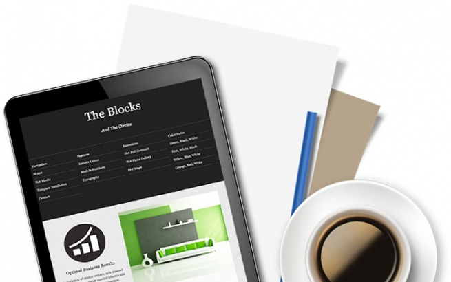 Joomla Template: Hot Blocks