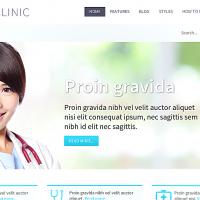 Hot Joomla Joomla Template: Hot Clinic