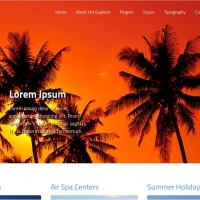 Hot Joomla Wordpress Theme: Hot Explorer