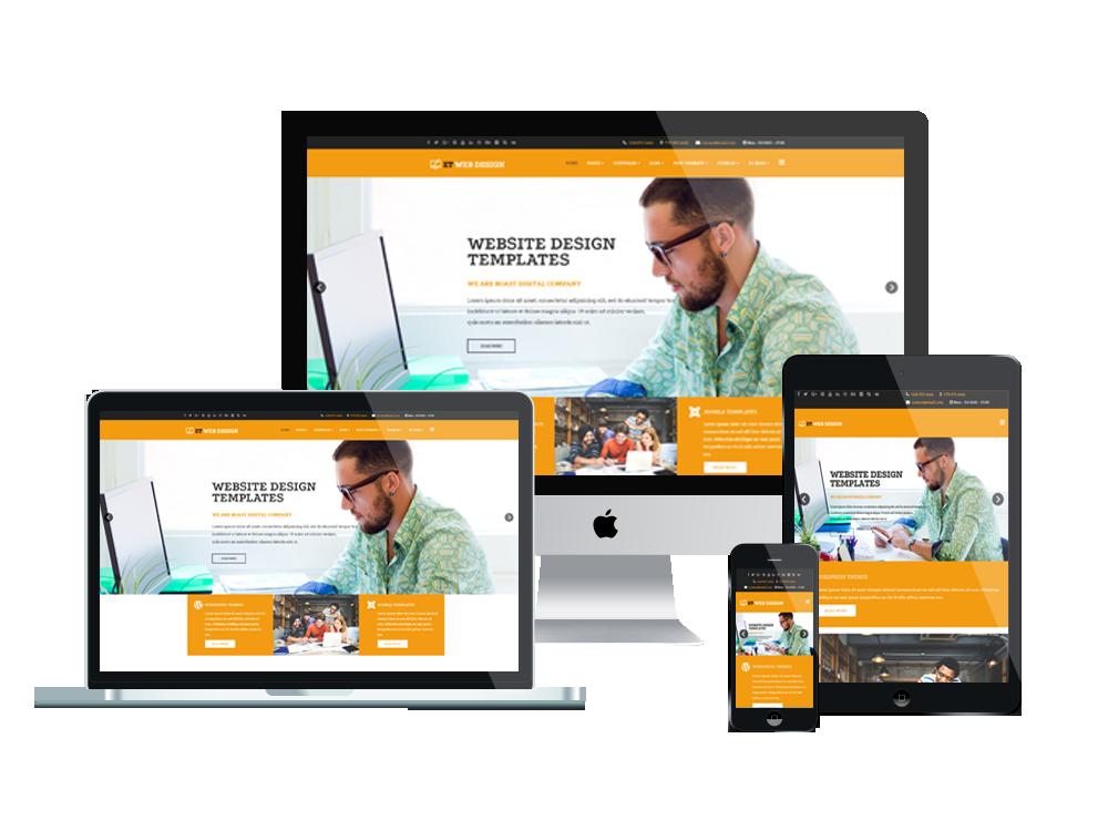 Joomla Template: ET Web Design – Free Responsive Web Design Joomla! template