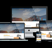enginetemplates Joomla Template: ET Transport – Free Responsive Transport Website Template