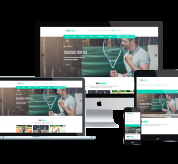 enginetemplates Joomla Template: ET Tennis – Free Responsive Tennis Website Template