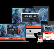 enginetemplates Joomla Template: ET Gaming – Free Responsive Joomla Gaming Templates