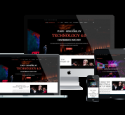 Joomla Free Template - ET Conference – Free Responsive Conference Website template