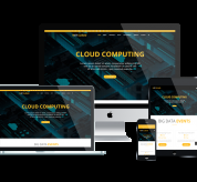 enginetemplates Joomla Template: ET Cloud – Free Responsive Joomla Hosting Template