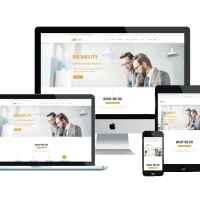 enginetemplates Joomla Template: ET Epic – Free Responsive Corporation / Business Joomla! Templates