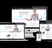 enginetemplates Joomla Template: ET Yoga – Free Responsive Yoga Joomla! template