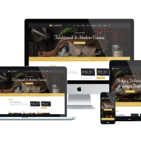 enginetemplates Joomla Template: ET Rustro – Free Responsive Bars / Cafe / Restaurants Joomla! Templates