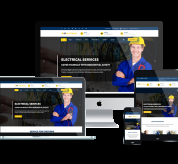 Joomla Free Template - ET Electrical – Free Responsive Joomla Electrical Website template