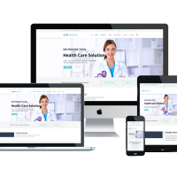 enginetemplates Joomla Template: ET Metrix – Free Responsive Healthcare / Medical Joomla! Templates