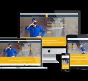 enginetemplates Joomla Template: ET Plumbing – Free Responsive Plumbing Website Template