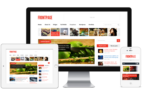 Wordpress Theme: FrontPage