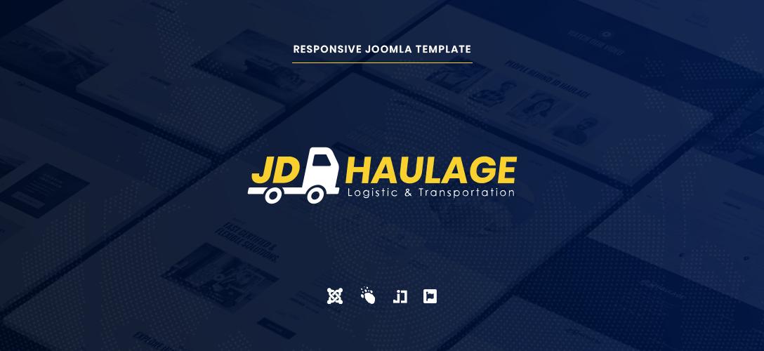 Joomla Template: JD Haulage - Logistic & Transportation Services Joomla Template