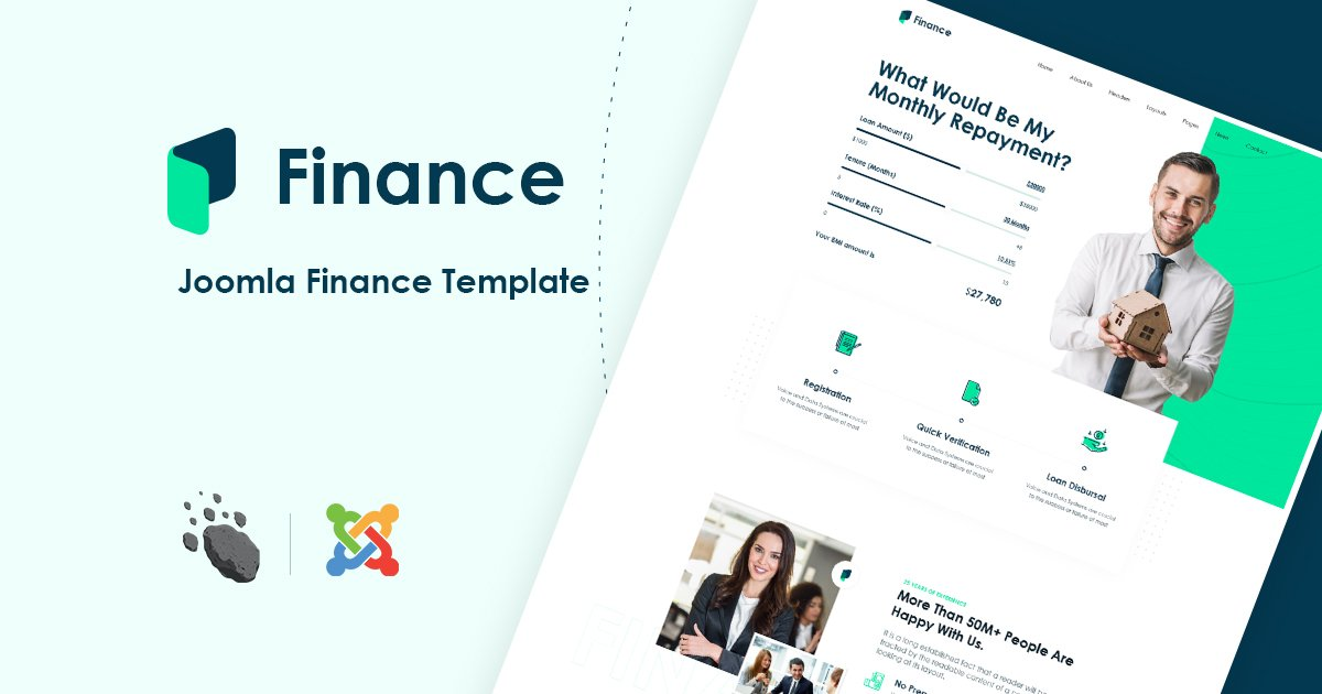 Joomla Template: JD Finance - Finance & Business Consulting Joomla Template