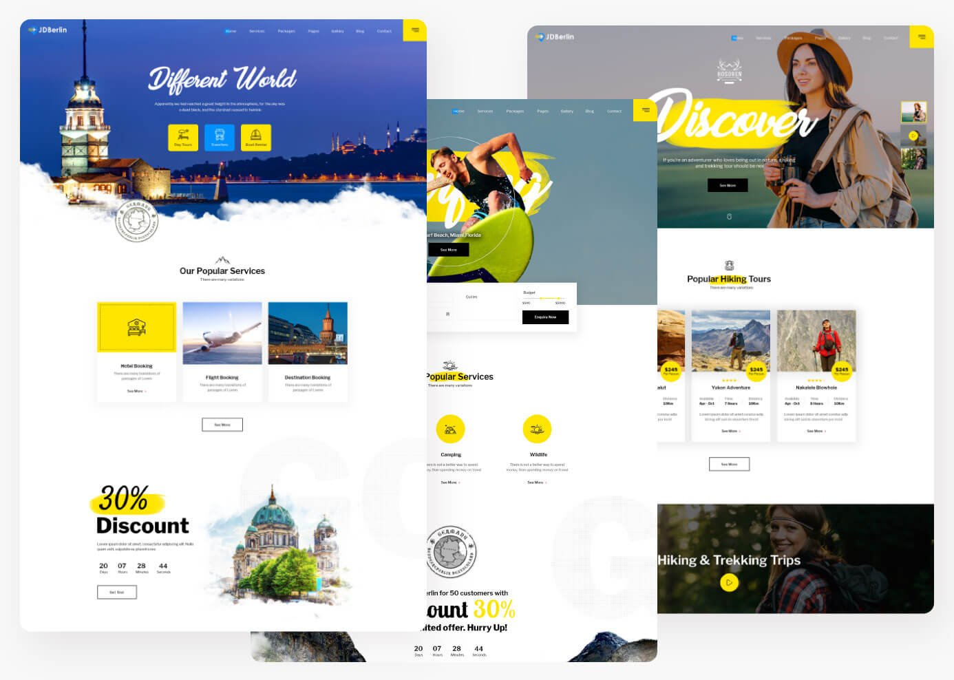 Joomla Template: JD Berlin