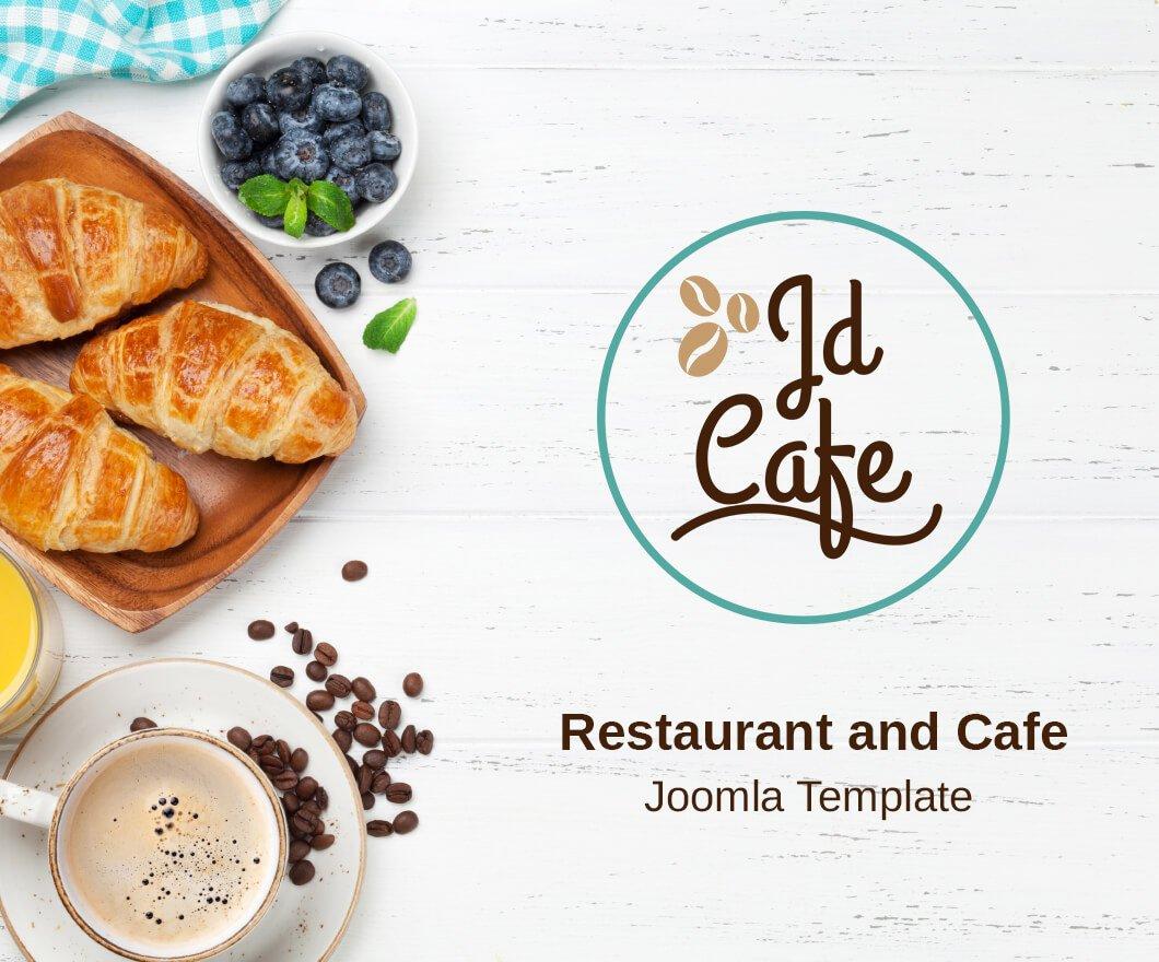Joomla Template: JD Cafe - Restaurant and Cafe Joomla Template