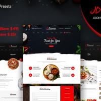 joomdev Joomla Template: JD Restaurant - Joomla Restaurant Template